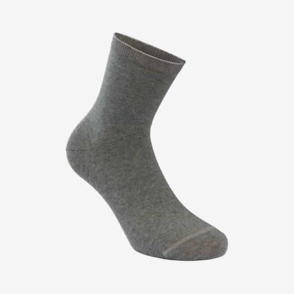 Biovitalis unisex čarapa melange siva Iva čarape
