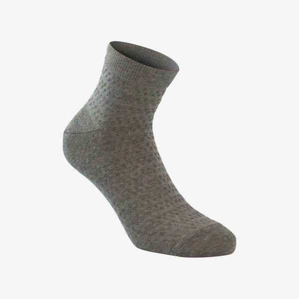 Flower ženska čarapa melange siva Iva čarape