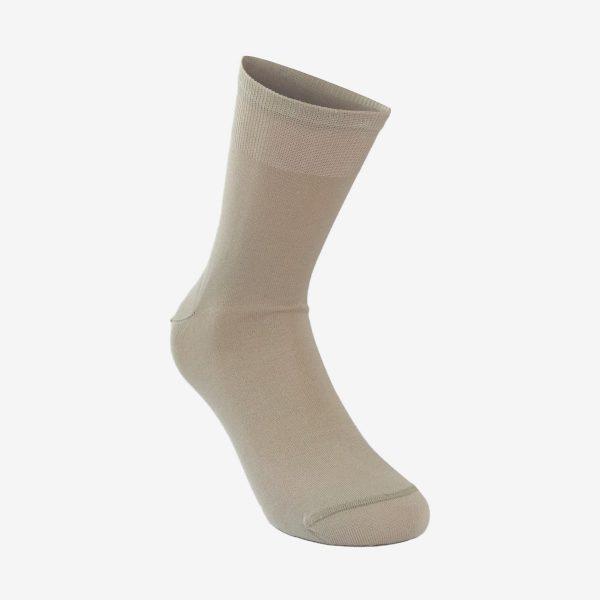 Marin muška čarapa bež