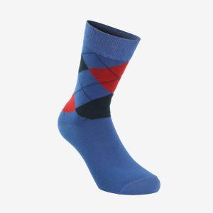Oliver Jacquard muška čarapa sv plava