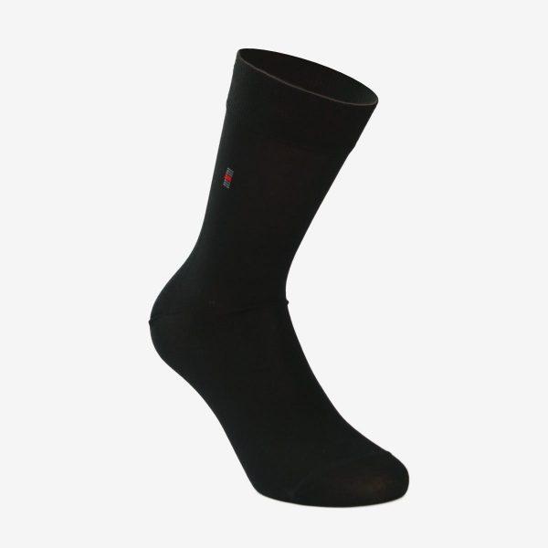 Tin muška čarapa crna