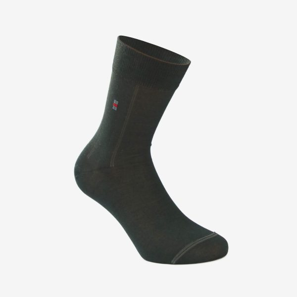 Tin muška čarapa tamno siva