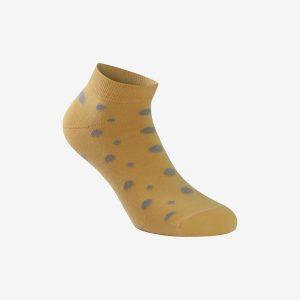 X Fun točkica unisex čarapa uzorak žuta Iva čarape
