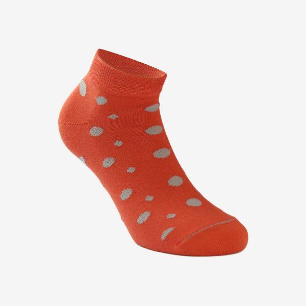 X Fun točkica unisex čarapa uzorak crvena Iva čarape