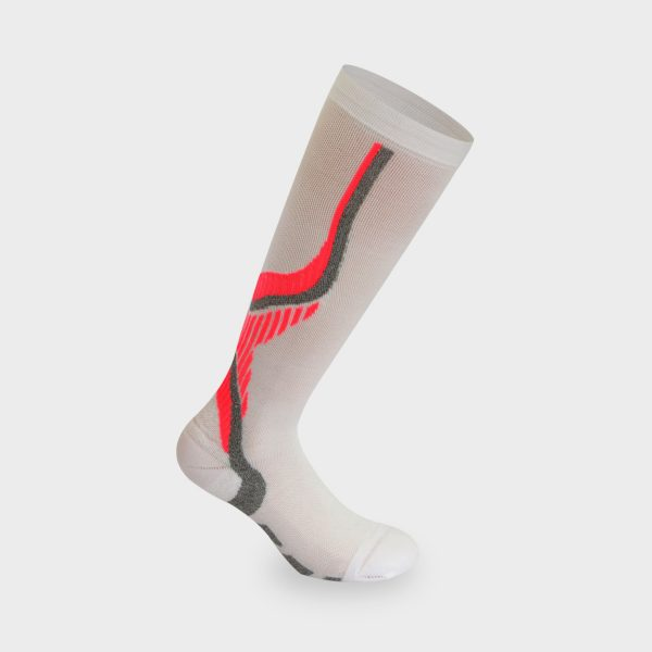 Nilit Energy čarapa bijela. pink