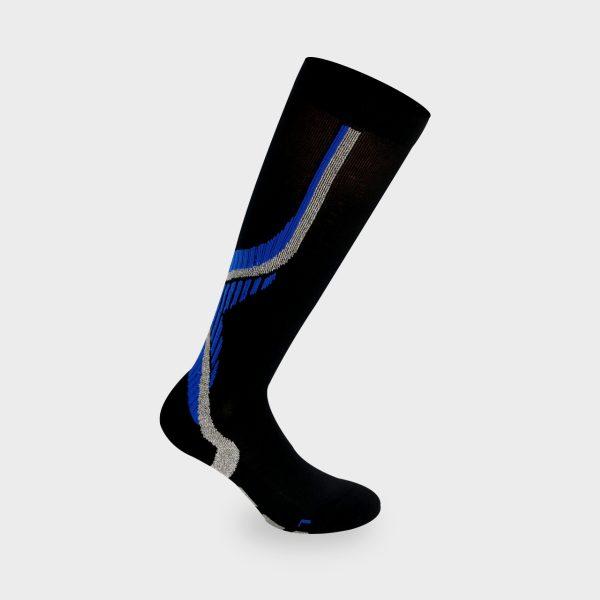 Nilit Energy čarapa crna, indigo
