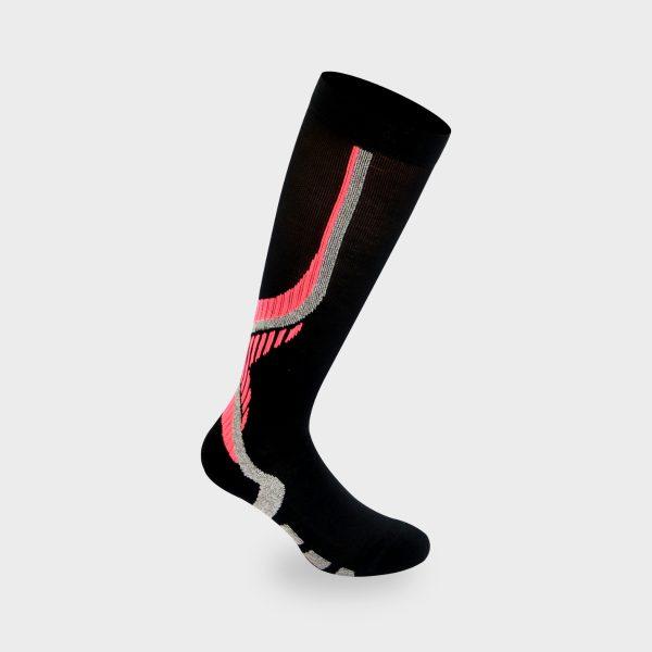 Nilit Energy čarapa crna, pink